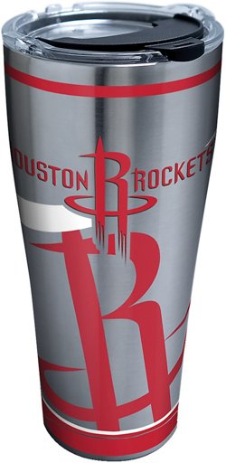 Houston Rockets 30 oz Paint Stainless-Steel Tumbler