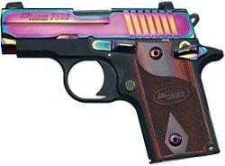 SIG SAUER P238 Rainbow .380 Auto Semiautomatic Pistol