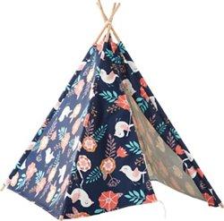 CRcKT Kids' Floral Teepee Play Tent