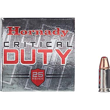 Hornady 9mm Luger 135-Gra FlexLock™ Critical DUTY™ Handgun Ammunition