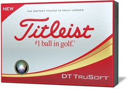 Titleist DT TruSoft Golf Balls 12-Pack