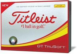 DT TruSoft Golf Balls 12-Pack