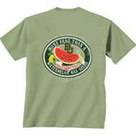 New World Graphics Women's Baylor University Watermelon Label T-shirt
