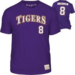 The Victory Men's Louisiana State University Alex Bregman 8 Retro MLBPA T-shirt