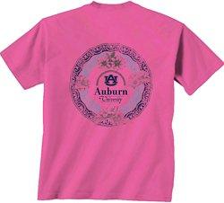 New World Graphics Women's Auburn University Healing Circle T-shirt