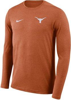Nike Men's University of Texas Dry Coaches Long Sleeve T-shirt