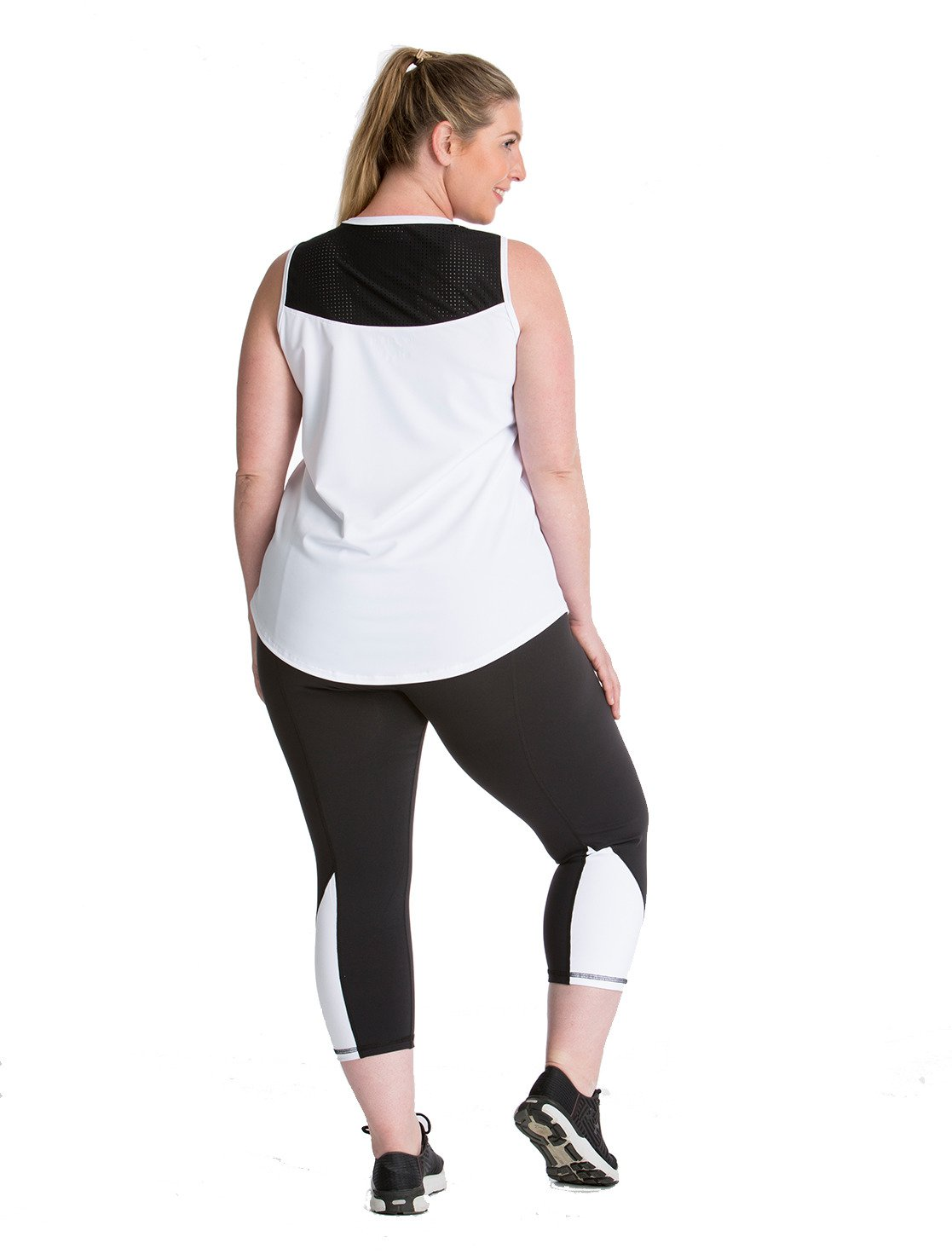 Lola Getts Women's Sport Plus Size V-neck Tank Top - view number 2