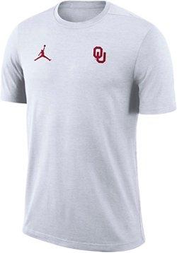 Nike Men's University of Oklahoma Dry Coaches Short Sleeve T-shirt