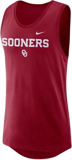 Nike Men's University of Oklahoma Dry Modern Tank Top