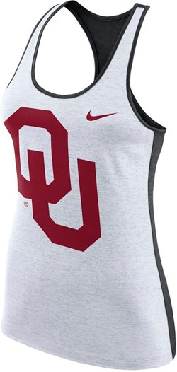 Nike Women's University of Oklahoma Dri-FIT Touch Tank Top