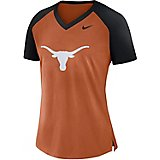 Nike Women's University of Texas Fan V-neck Top