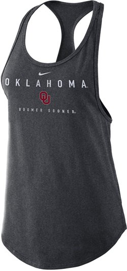 Nike Women's University of Oklahoma Gym Tank Top