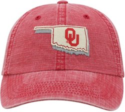 Top of the World Men's University of Oklahoma Stateline Adjustable Cap