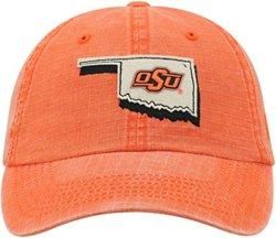 Top of the World Men's Oklahoma State University Stateline Adjustable Cap
