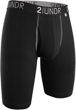 2UNDR Men's Swing Shift 9 in Long Leg Boxer Briefs