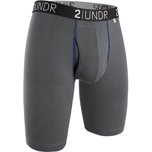 2UNDR Men's Swing Shift 9 in Long Leg Boxer Briefs