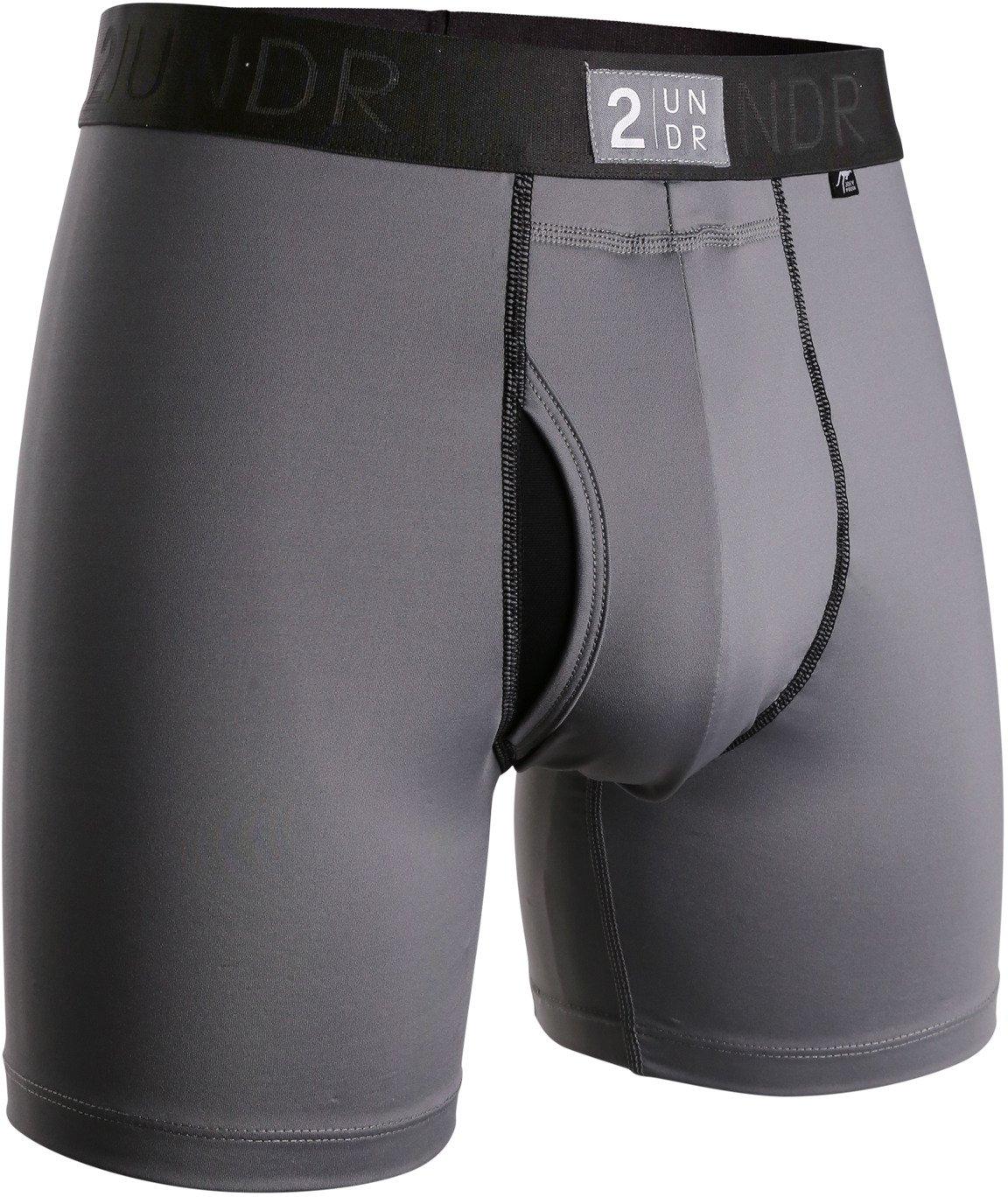 2UNDR Men's Power Shift 6 in Boxer Briefs