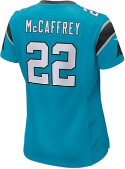 Nike Women's Carolina Panthers Christian McCaffrey 22 Game Jersey