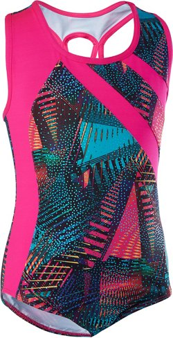 Capezio Girls' Future Star Asymmetrical Leotard