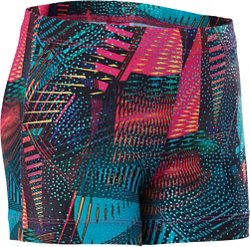 Capezio Girls' Future Star All Over Printed Dance Shorts