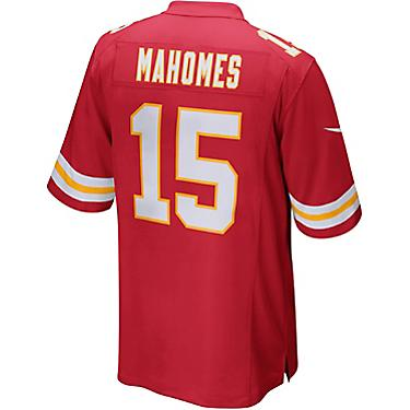 best sneakers ae780 43e6f Nike Men's Kansas City Chiefs Patrick Mahomes II 15 Elite Replica Jersey