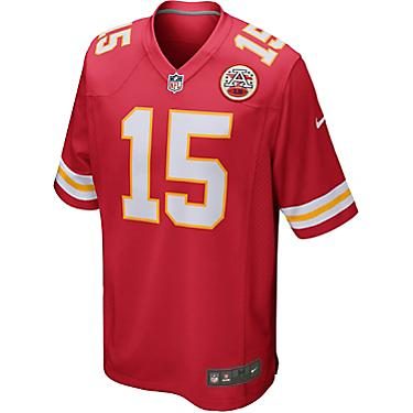 best sneakers 2afda a3d08 Nike Men's Kansas City Chiefs Patrick Mahomes II 15 Elite Replica Jersey