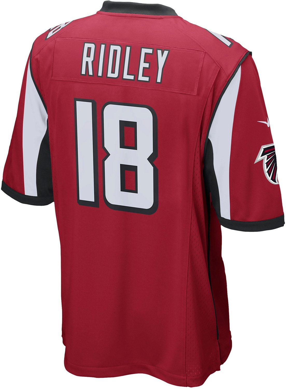 low priced e6b11 19f31 Nike Men's Atlanta Falcons Calvin Ridley 18 Game Jersey