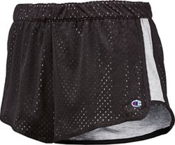 Champion Women's Reversible Mesh to Jersey Shorts
