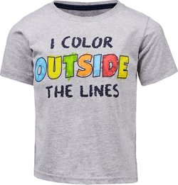 Extreme Concepts Toddler Boys' Color Outside GFX T-shirt