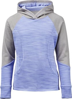 Girls' Printed Performance Fleece Hoodie