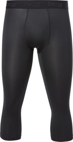BCG Men's 3/4-Length Compression Tights