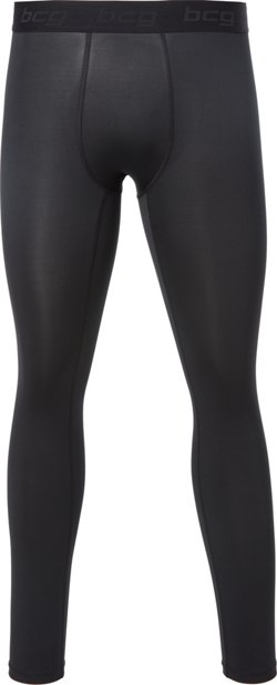 BCG Men's Performance Full Length Compression Tights