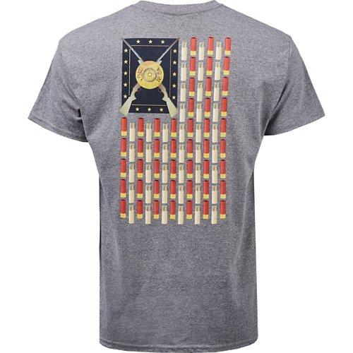 Browning Men's Shotgun Shell Flag T-shirt