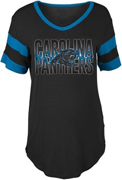 Women's Carolina Panthers Rayon T-shirt