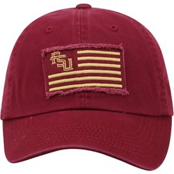 Men's Florida State University Flag4 Adjustable Cap