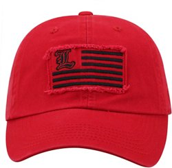 Men's University of Louisville Flag4 Adjustable Cap