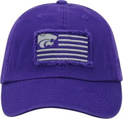 Men's Kansas State University Flag4 Adjustable Cap