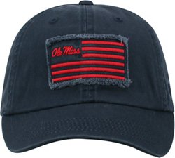 Top of the World Men's University of Mississippi Flag4 Adjustable Cap