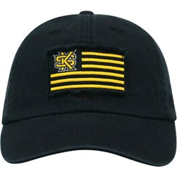 Men's Kennesaw State University Flag4 Adjustable Cap