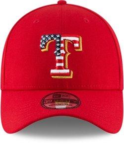 New Era Men's Texas Rangers July 4th 39THIRTY Onfield Cap