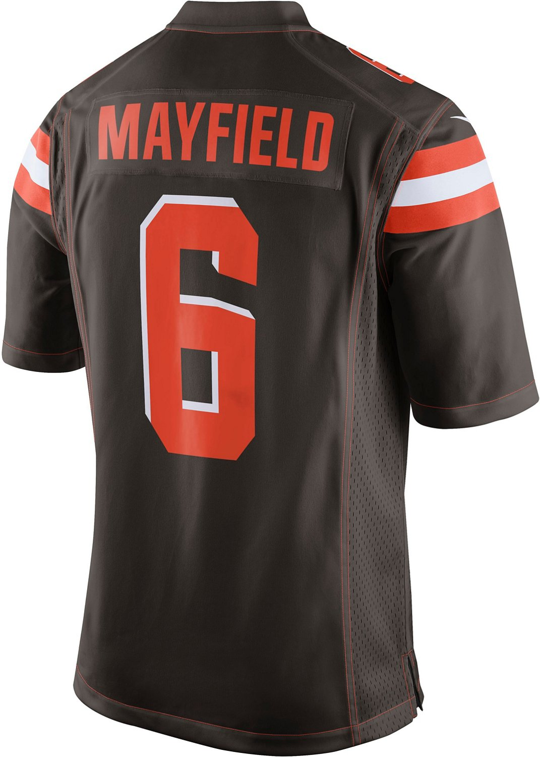 buy online 9b130 2855c Nike Men's Cleveland Browns Baker Mayfield 6 Game Jersey