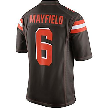 buy online f9be0 471a0 Nike Men's Cleveland Browns Baker Mayfield 6 Game Jersey