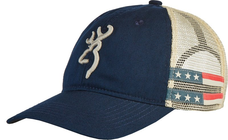 Browning Women's Stars and Stripes Ball Cap (Navy, Size One Size) - Men's Outdoor Apparel, Men's Hunting/Fishing Headwear at Academy Sports thumbnail