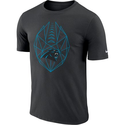 Nike Men s Carolina Panthers Icon T-shirt - view number 2. Hover Click to  enlarge ed3cb7e21