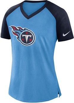 Nike Women's Tennessee Titans V-neck T-shirt