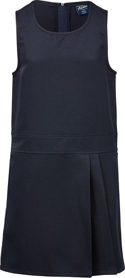 Austin Trading Co. Girls' School Uniform Side Pleat Jumper