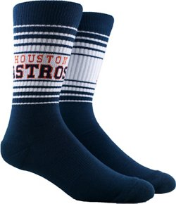 PKWY Houston Astros Crew Socks