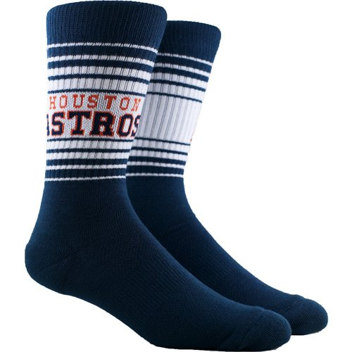 PKWY Houston Astros Crew Socks