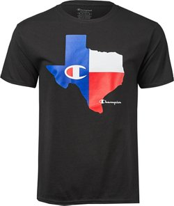 Champion Men's Lone State Texas T-shirt