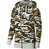 88f628152a40 Women s Gym Vintage Camo Full Zip Hoodie Quick View. Nike
